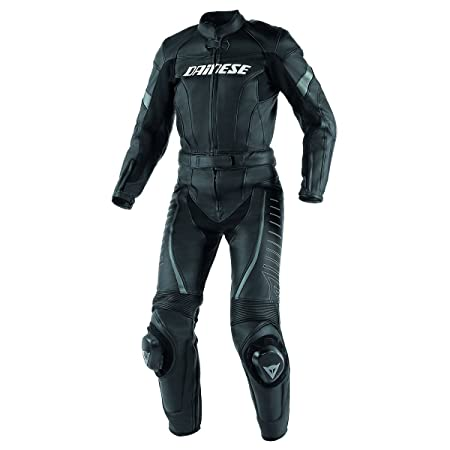 Dainese 2513416_685_46 TRacing Div Lady, Noir/Anthracite, Taille : 46