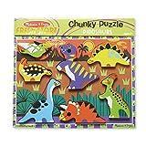 Melissa & Doug Dinosaur Chunky Puzzle ~ Melissa & Doug