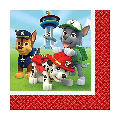 Paw Patrol Lunch Napkins (16pkg)