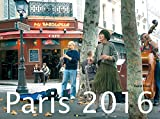 Paris 2016 - Bildkalender quer (56 x 42) - Nomada Reisekalender - by Horst Haas