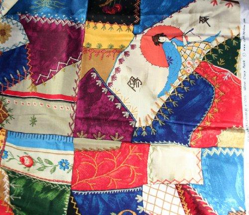 Daisy Kingdom Cotton Fabric 0.88 Yd 45
