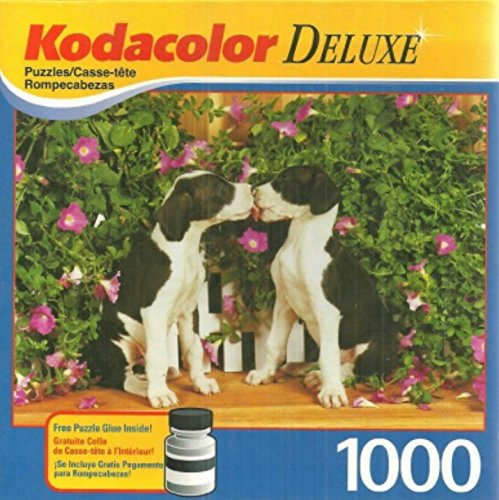 "Kodacolor ""Apollo and Thor"" Puppies - 1000 Piece Puzzle"