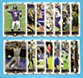 2014 Topps Minnesota Vikings 14 Card Team Set Including Teddy Bridgewater RC, Anthony Barr RC, Adrian Peterson, Kyle Rudolph, and more! (Football Cards)