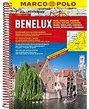 MARCO POLO Reiseatlas Benelux, Belgien, Niederlande, Luxemburg 1:200.000 (MARCO POLO Reiseatlanten)