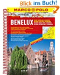 MARCO POLO Reiseatlas Benelux, Belgie...