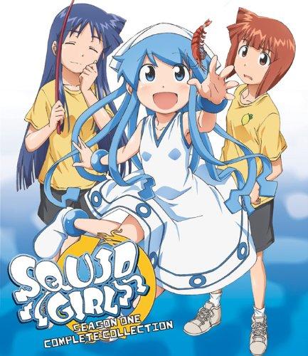 侵略!イカ娘 第1期 (全12話収録)Complete Collection [Blu-ray]  北米版(日本語音声可)