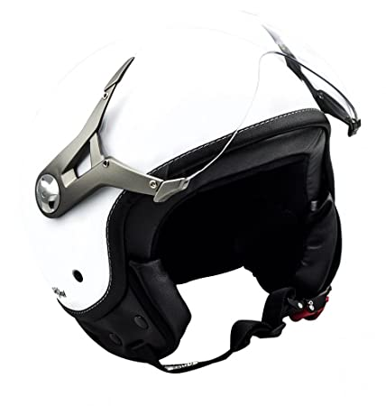 SOXON SP-325 blanc casque JET moto Urban Cruiser Pilot helmet - XS S M L XL