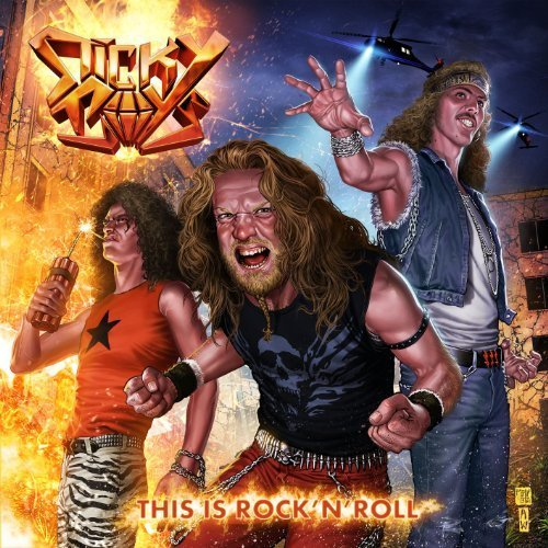 This Is Rock 'N' Roll by Sticky Boys (2012) Audio CD