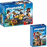 PLAYMOBIL® Piraten 2-tlg. Set 6683 Piraten-Schatzversteck