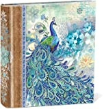 Punch Studio Paisley Peacock Decorative Photo Album