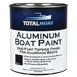 TotalBoat Aluminum Boat Paint (Black, Quart) (Color: Black, Tamaño: Quart)