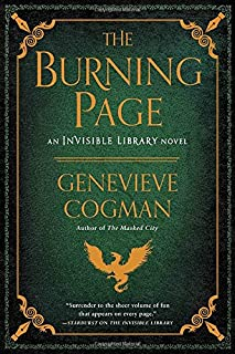 Book Cover: The Burning Page