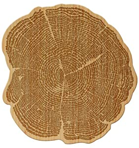 Totally Bamboo Tree of Life Cutting and Serving Board
