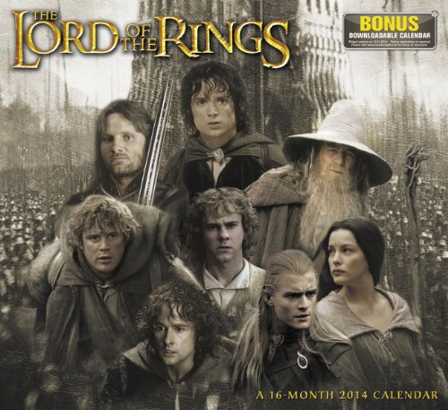 2014 The Lord of the Rings Wall Calendar