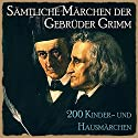 Sämtliche Märchen der Gebrüder Grimm: 200 Kinder- und Hausmärchen Audiobook by  Brüder Grimm Narrated by Jürgen Fritsche