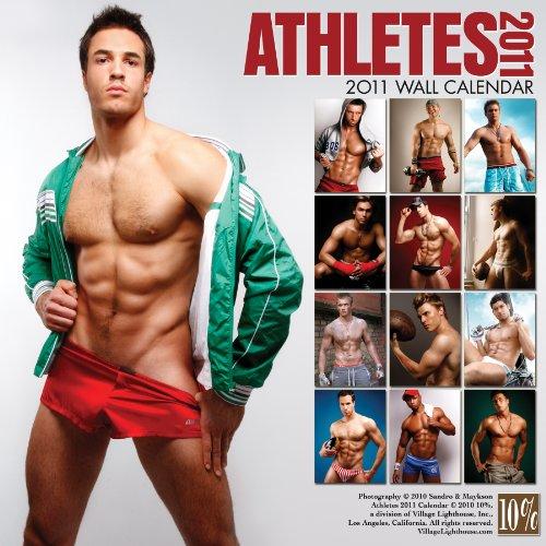 Athletes 2011 Wall Calendar (Village Lighthouse Inc)