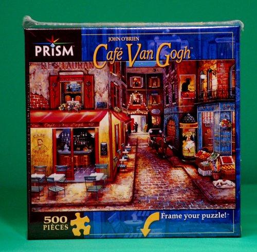 "Cafe Van Gogh 500 Piece Jigsaw Puzzle 19"" X 13"" - 1"