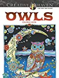 Creative Haven Owls Coloring Book (Cr...