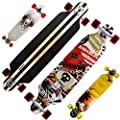 Rimable Drop-through Longboard (41-inch) from RM