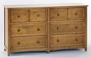 School House 6 Drawer Dresser