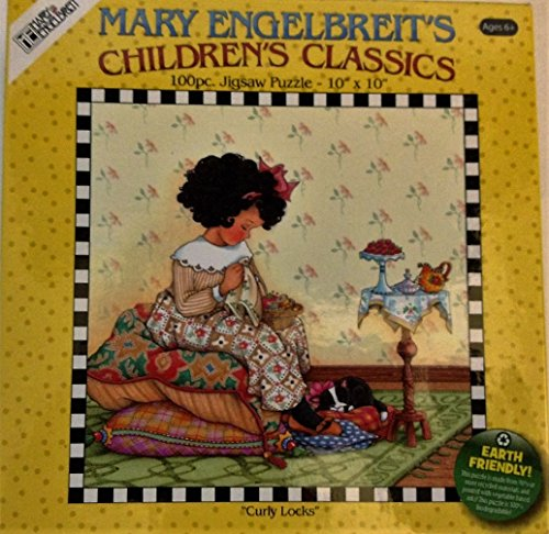 Mary Englebert's Children's Classics - 100 Piece Puzzle - Curly Locks by Mary Engelbreit's