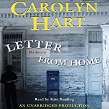 Letter from Home Audiobook by Carolyn Hart Narrated by Kate Reading
