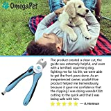 Dog Nail Clippers (Professional Edition) - Quick Safety Guard to Avoid Overcutting & Nail File Trimmer to Smooth Out Nails - Best for Large, Medium or Small Dogs