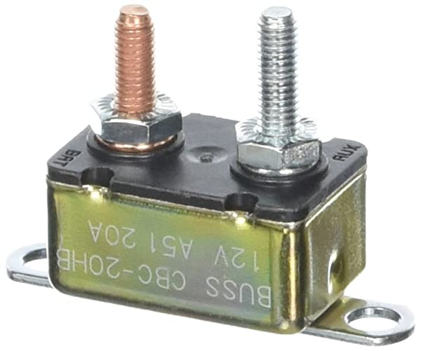 BP//CBC-10HB-RP BUSS SHORT STOP CIRCUIT BRKR 10A METAL IN LINE BRKET TYPE-1 12V