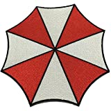 Resident Evil Umbrella Patch Stars Corporation Large Size Applique Embroidered Sew Iron On - APPLIQUE EMBROIDERED - Clothing Shirts Pants Novelty Iron on with heat or sew on - Decorate Bags Caps Towels - Safe Non-toxic - 100%