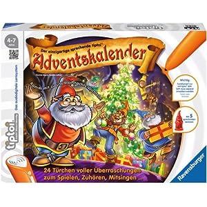 Ravensburger Spieleverlag 00715 - Tiptoi: Adventskalender