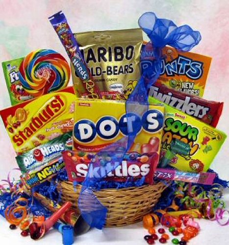 Candy Gift Baskets August 2012
