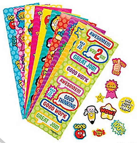 Mega Teachers Stickers (50 Pieces) School Supplies/Stationary/Educational - 1