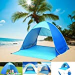 Pop Up Beach Tent by CiaraQ, Portable...