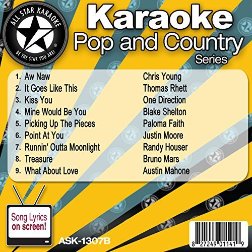 All Star Karaoke Pop and Country Series (ASK-1307B) by Chris Young (Karaoke Cds One Direction compare prices)
