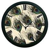 meSleep Feather 3D Wall Clock (With Glass)