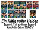 Ein K�fig voller Helden - Season 1-6 komplett (26 DVDs)