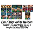 Ein K�fig voller Helden - Season 1-6 komplett - Set Deutsch (26 DVDs)