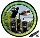 "Player Supreme Golf Tubes / Dividers for Bags JUMBO SIZE (1.5"") Single Tube"