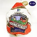 ターキー(七面鳥)6~8ポンド(約2.7~3.6Kg) 丸鳥 丸鶏 ターキーレッグ 生 冷凍 丸ごと 鶏肉 クリスマス パーティー