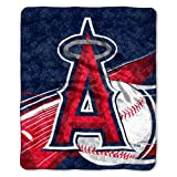 MLB Los Angeles Angels 50-Inch-by-60-Inch Sherpa o