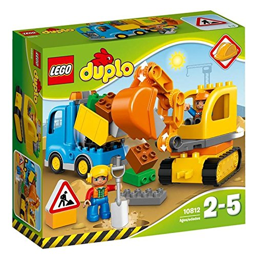 "Lego Duplo Duplo R of town ""truck and shovel"" 10812"