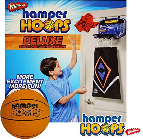 Wham-O Deluxe Electronic Hamper Hoops with 5.5