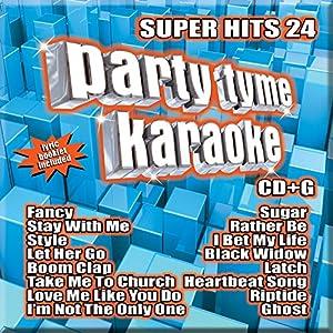 Party Tyme Karaoke - Super Hits 24 [16-song CD+G]
