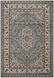 Sweethome Classic Collection Oriental Blue Medallion Design (7'10