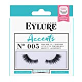 Eylure Accents False Lashes, Style No. 005, Reusable, Adhesive Included, 1 Pair