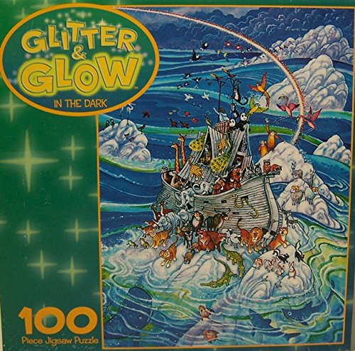 Glitter and Glow Noah's Triumph Jigsaw Puzzle 100pc