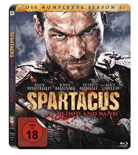 Spartacus: Blood and Sand - Die komplette Season 1 (Steelbook) [Blu-ray]