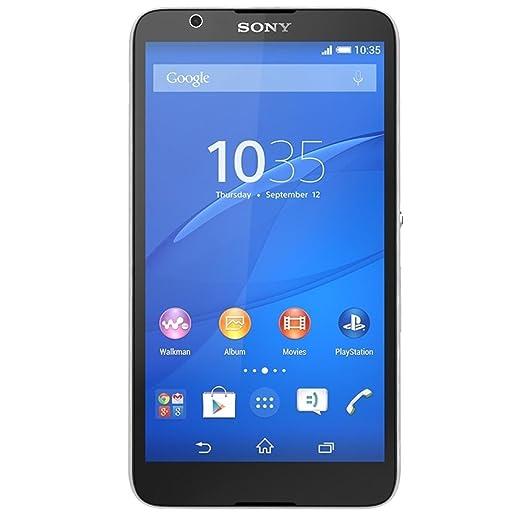 Sony E2115IT/W Xperia E4 Dual Smartphone débloqué (Ecran: 2.3 pouces) Blanc (import Italie)