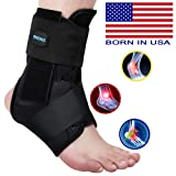 SNEINO Ankle Brace,Lace Up Ankle Brace for Women,Ankle Brace for Sprained Ankle,Ankle Supports for Women,Kids,Ankle Braces for Basketball,Volleyball Ankle Braces,Ankle Stabilizer for Women(Small) (Tamaño: Small)