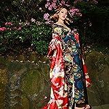 コスチューム  高級 吉原花魁 和柄 着物風 癒し和美人 和服 (オーダーメイド)